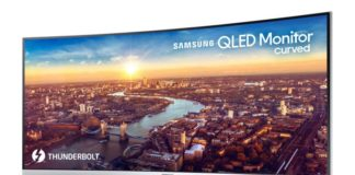 Samsung curved QLED display(CJ791) Sihmar