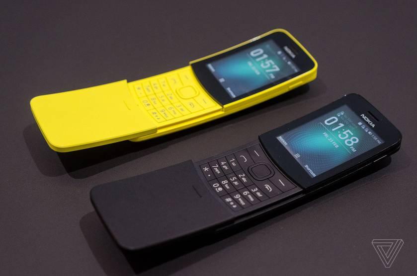 Nokia 8110 4G Phone (Image by Verge)