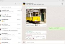 Whatsapp Desktop app for Windows 10