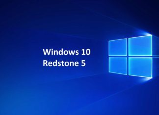 Windows-10 version 1809 Redstone 5