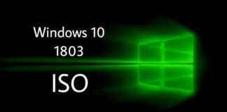 Windows 10 1803 ISO Download links