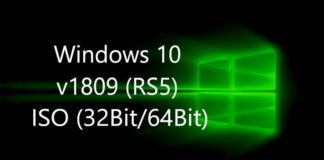 Windows 10 v1809 ISO Download Links