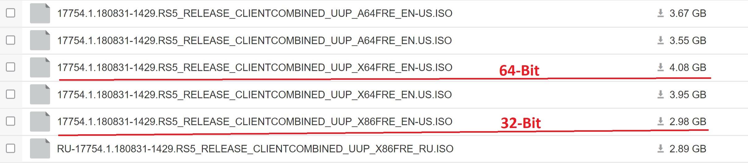 Windows 10 Build 17754 ISO download links